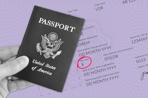19th gender markers passports